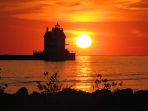 Lorain, Ohio sunset. Photo by Rona Proudfoot, Flickr