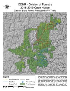 Zaleski State Forest map | Ohio Environmental Council on